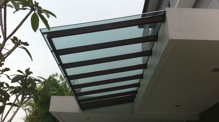 Polycarbonate Roofing Attaches To Fascia No Posts