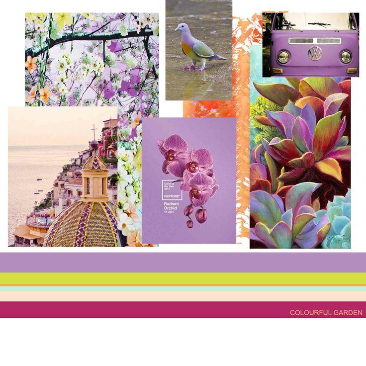 Spring/Summer Palette 14 #colour #harmony  Martina Botelho