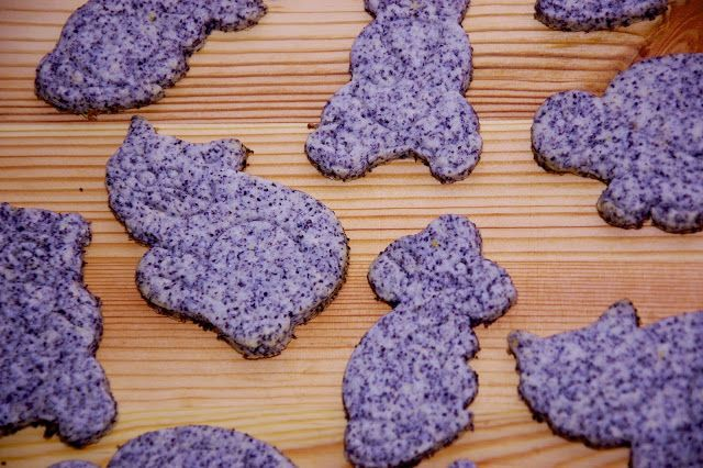 SüniSüti: Mákos citromos állatos keksz