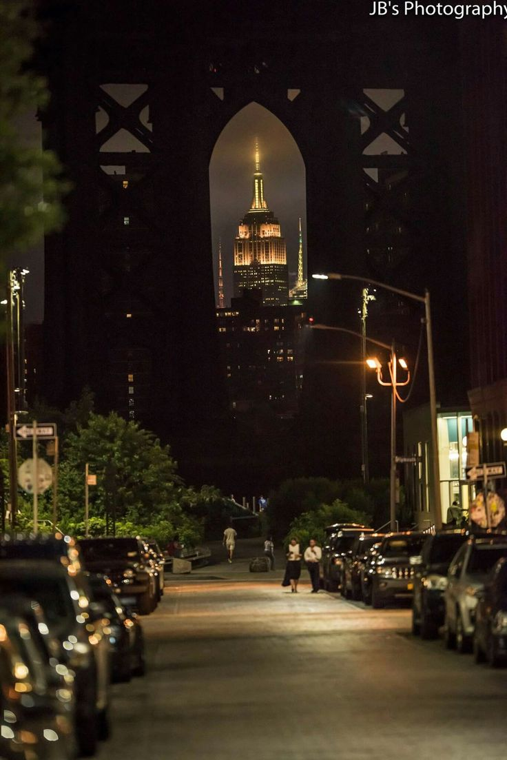 summer in the city.....Empire State Building viewed from Brooklyn NY....photocred JB's Photography