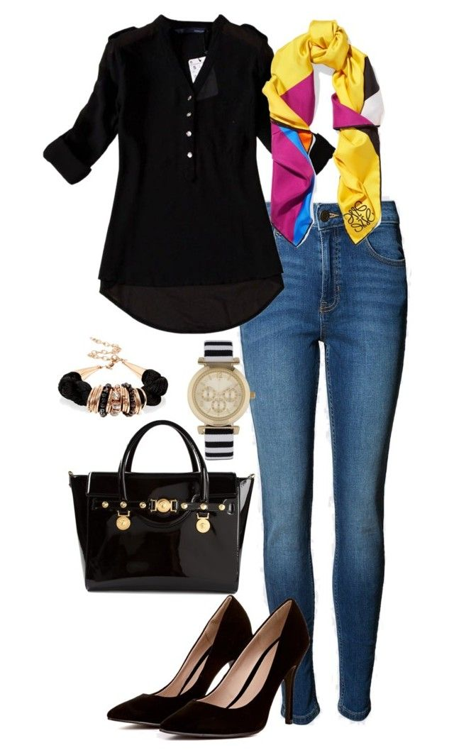 """Office casual #154"" by amooshadow on Polyvore featuring Versace, ALDO and Loewe"