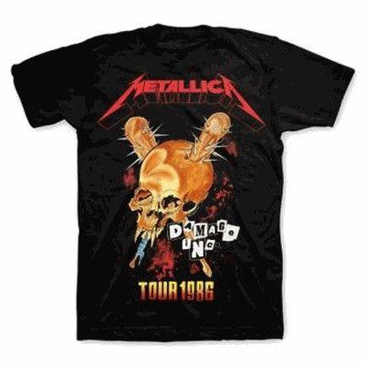 Metallica Tour 86 T-Shirt