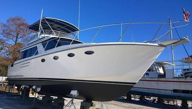 1990 Ocean Alexander Sedan Bridge Power Boat For Sale - www.yachtworld.com