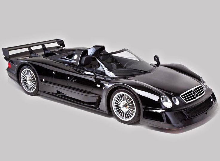Rare 1999 Mercedes CLK-GTR Hits Auction Block