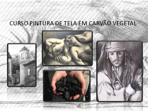 PINTURA CARVÃO VEGETAL SOBRE TELA |https://www.buzzero.com/autores/DouglasLaurindo ACESSE AGORA!