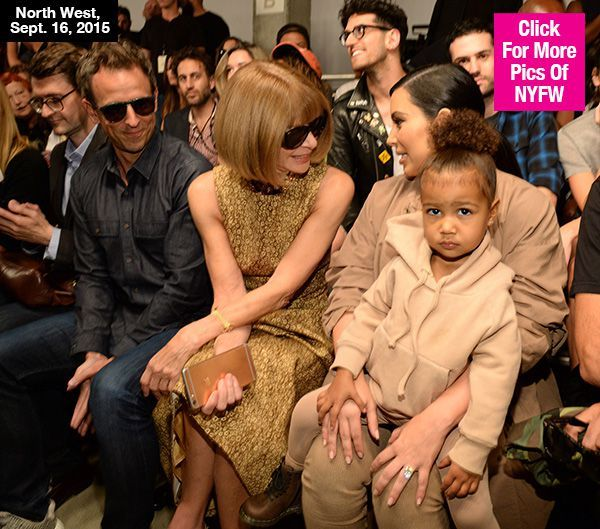 North West Interrupts Kanye West's Fashion Show In The Cutest Way Possible