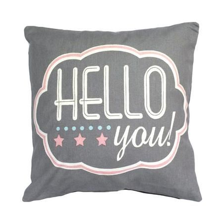 Hello You Cushion | Dunelm