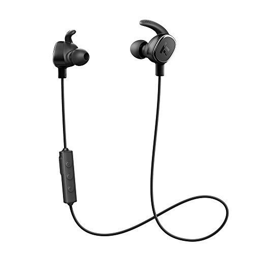 TaoTronics Bluetooth Headphones Wireless In Ear Earbuds Magnetic Stereo Earphones with Builtin Mic Cordless 41 for Ultralight Business aptX Bass  Noise Isolation Technology Ceramic Antenna *** Check out this great product.