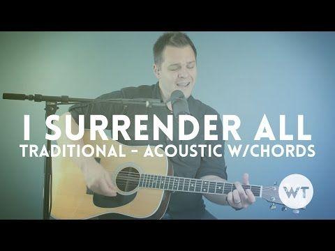 i surrender all chords in d pdf