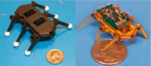 RoACH, another posterboard robotic bug from the Biomimetic Millisystems Lab at UC Berkeley #biomimicry #robotics
