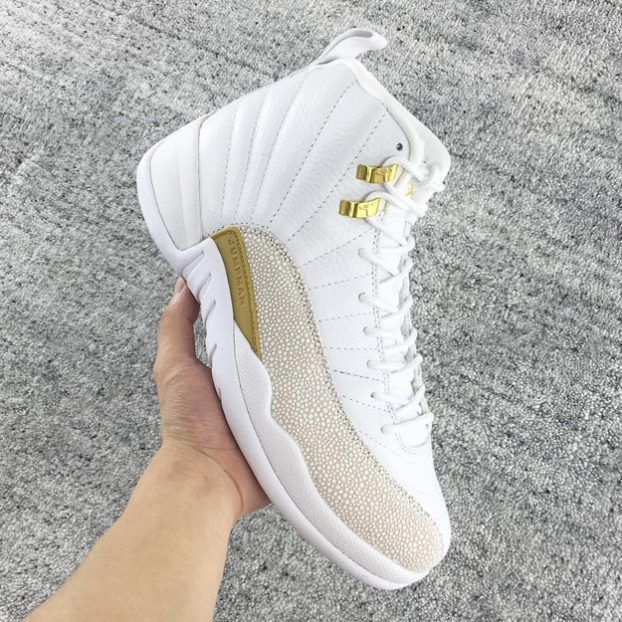 06db415fac1e22 ... White Air Jordan XII OVO Summit White