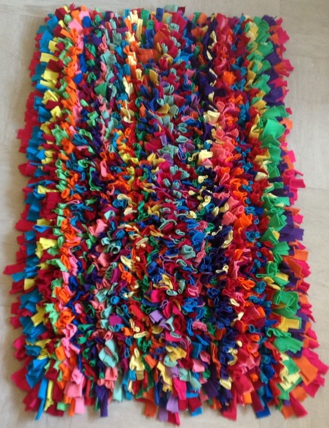 Rag Rug By Crafty Bags Diy Home Decor Pinterest Rugs And Tutorial