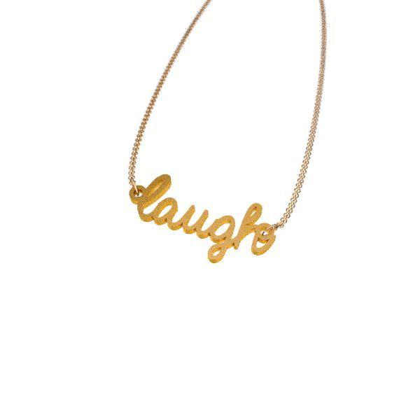 Laugh Necklace - Zazzy