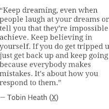 tobin heath quotes - Google Search
