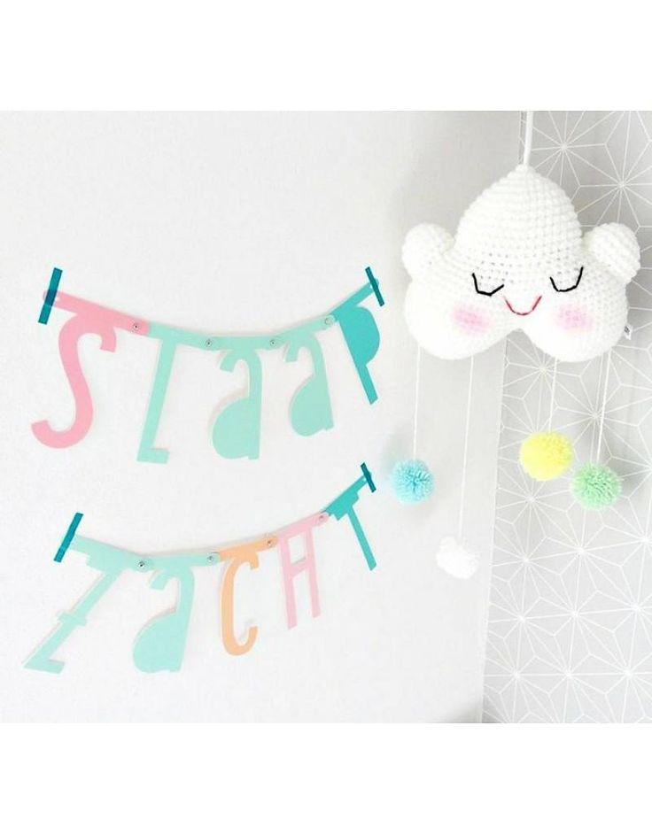A little lovely company Letterslinger pastel