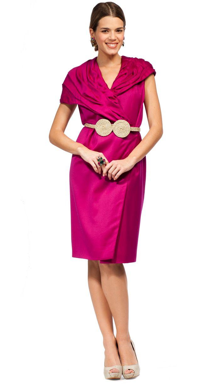 vestido corto capa gasa verde para fiesta Dresseos disponible en ...