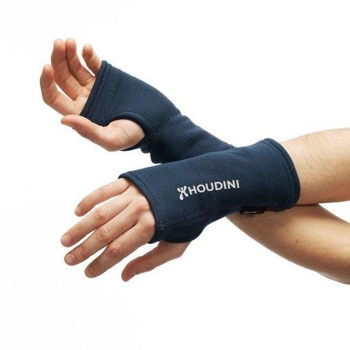 Houdini power Wrist gaiters - Dark Demin fra Komplettyoga/. Om denne nettbutikken: http://nettbutikknytt.no/komplettyoga-no/