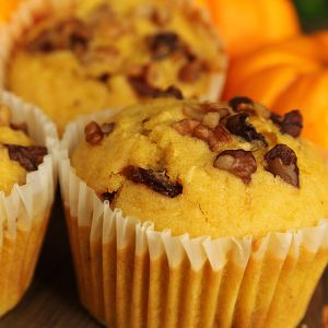 Spiced Pumpkin Cupcakes Recipe from Grandmother's Kitchen