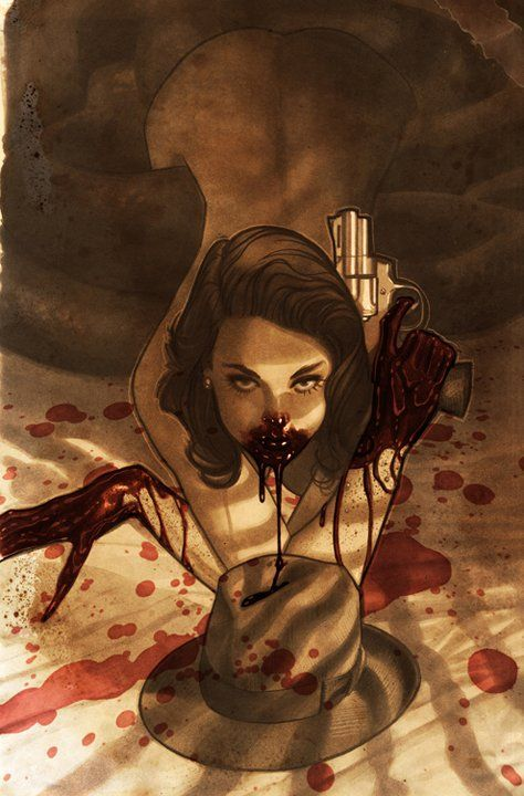 Woah. this is creepy but awesome! Fairest #7 by Adam Hughes