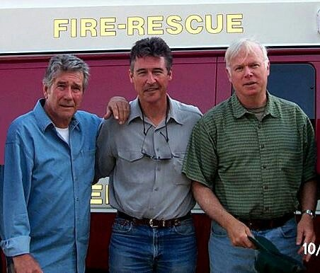 Robert Fuller, Randolph Mantooth and Kevin Tighe
