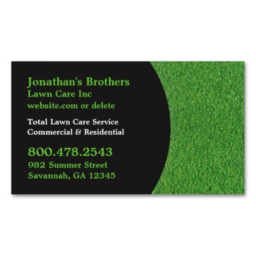 150 best landscaping business cards images on pinterest business lawn care business cards accmission Images