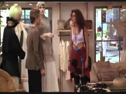 "Pretty Women Shopping both scences This is a youtube video clip from the movie ""Pretty Woman"", and it was uploaded on August 20, 2013. This clip is interesting because Vivian played by Julia Roberts stands up for her self at the end to show the women what they missed out on. The clip is about a prostitute given money to buy classy outfits to go out to dinner in and the workers in the store do not help her because she does not look rich."