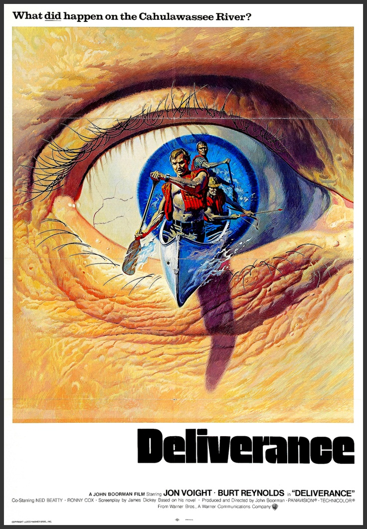Deliverance (1972) starring Jon Voight & Burt Reynolds