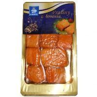 """#Praliny z łososia firmy #Suempol to produkt pochodzący z najlepszej części fileta, dopasowany do potrzeb współczesnych konsumentów. Wędzenie na gorąco zapewnia doskonały smak, a technologia MAP gwarantuje trwałość, świeżość i apetyczny wygląd produktu. Praliny z łososia można spożywać zarówno na ciepło, jak i na zimno – jako samodzielne danie. Praliny z łososia zostały nagrodzone w ogólnopolskim konkursie Laur Konsumenta w kategorii """"Odkrycie Roku 2013"""".  #salmon #łosoś #fit #healthy"""