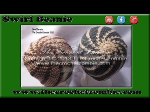 Swirl Beanie Tutorial - YouTube