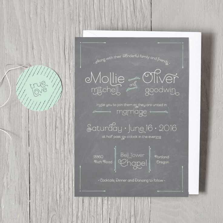 Custom wedding invitations designed just for you