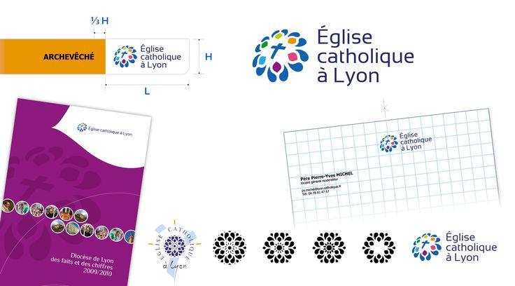 Identité visuelle - Diocèse de Lyon