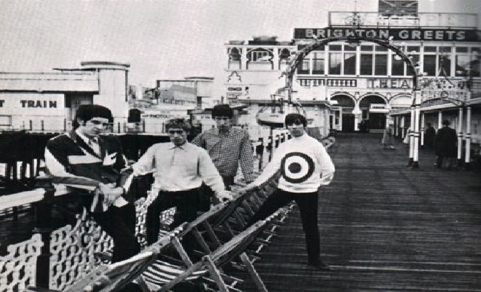 The Who On The Palace Pier in Brighton East Sussex England