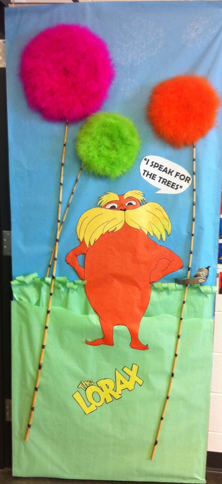Lorax Classroom Decor ~ Best images about lorax on pinterest trees dr suess