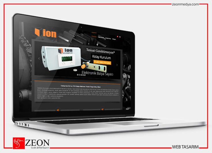 Zeon Medya | İon Part Web Tasarım