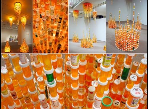 Installations by Korean Artist Jean Shin- Chemical Balance II & III