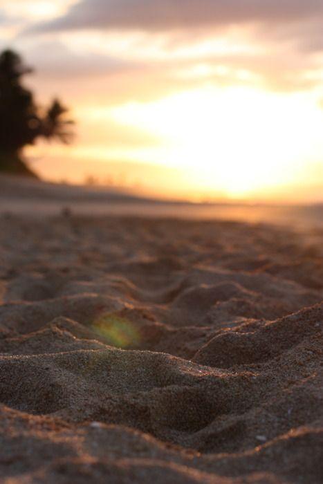 walk on the beach...