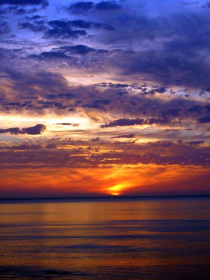 Sunset at De Kelders - Western Cape