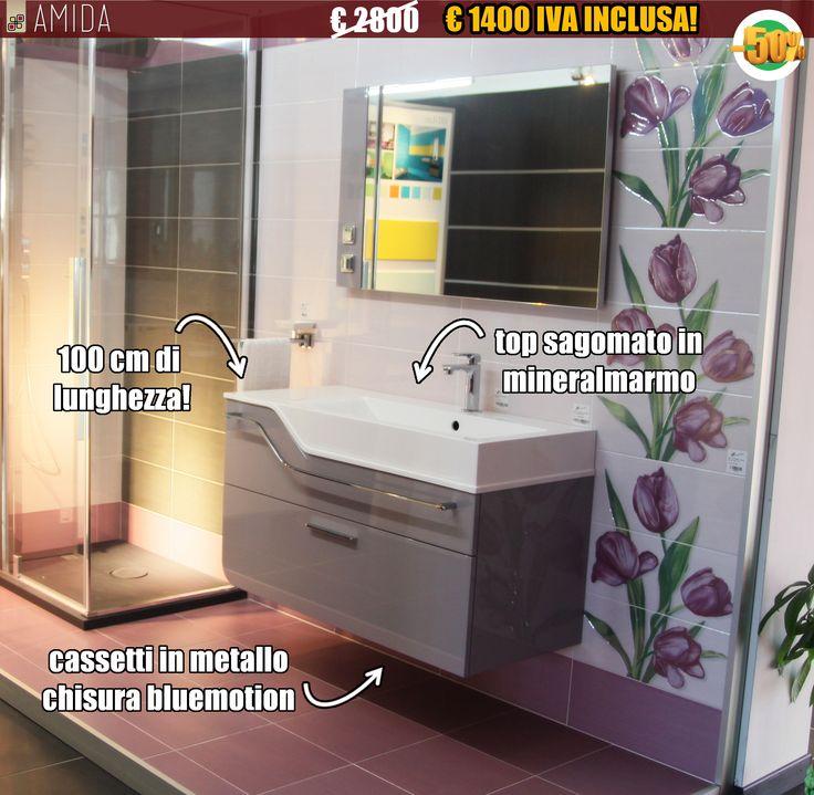 Non perdere le occasioni di primavera! Solo da Amida mobile bagno marca f.lli Stocco ad un prezzo incredibile! Scopri di più su http://www.amidaceramiche.it/?p=1515