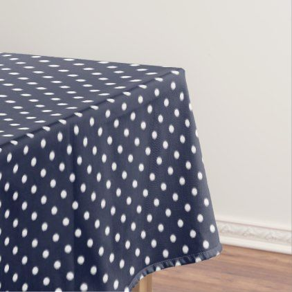 Polka dots tablecloth - home gifts ideas decor special unique custom individual customized individualized
