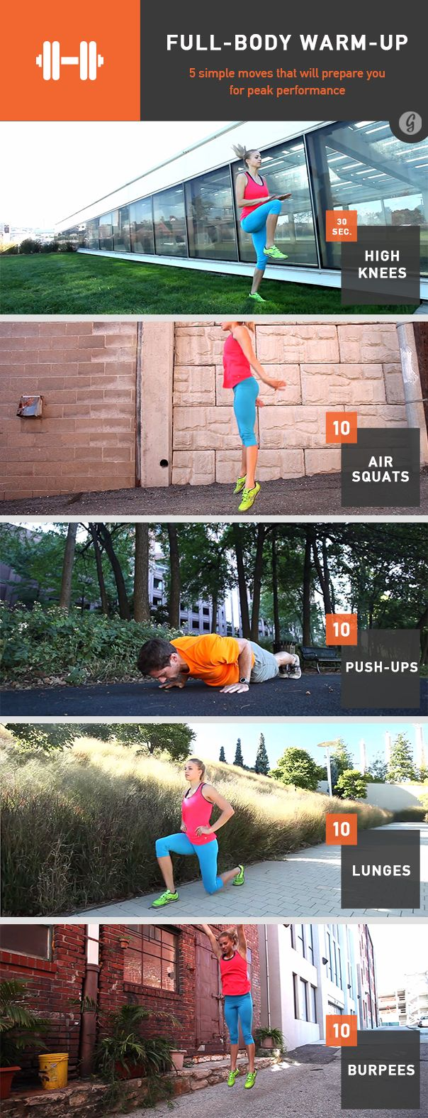 Full Body warm-up guide! Stay cram-free during workout :) #fitness #tips