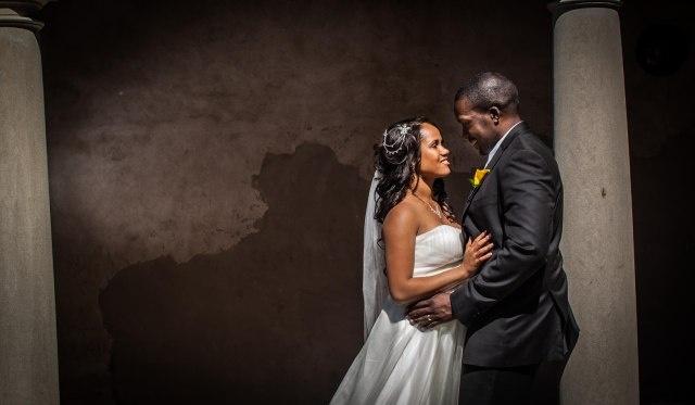 recent wedding shot
