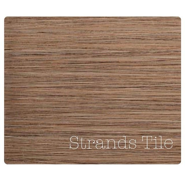 """Jenny Read's favorite design trend is the Strands Tile from Emser Tile. She loves the movement and color, and a more contemporary feel. """"This is probably one of my favorite colors... brown but gray."""""""