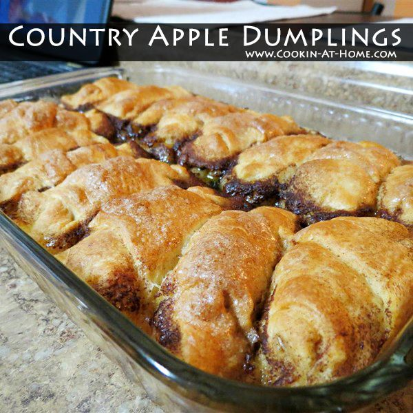 Country Apple Dumplings4:59 PM Posted by Sandy ...