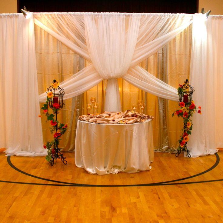 Wedding Hall Decoration Ideas: 249 Best LDS Cultural Hall Weddings Images On Pinterest