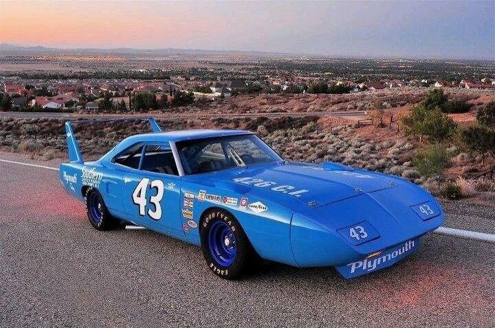 Plymouth By Petty Hemi Road Runner Superbird Nascar Stock