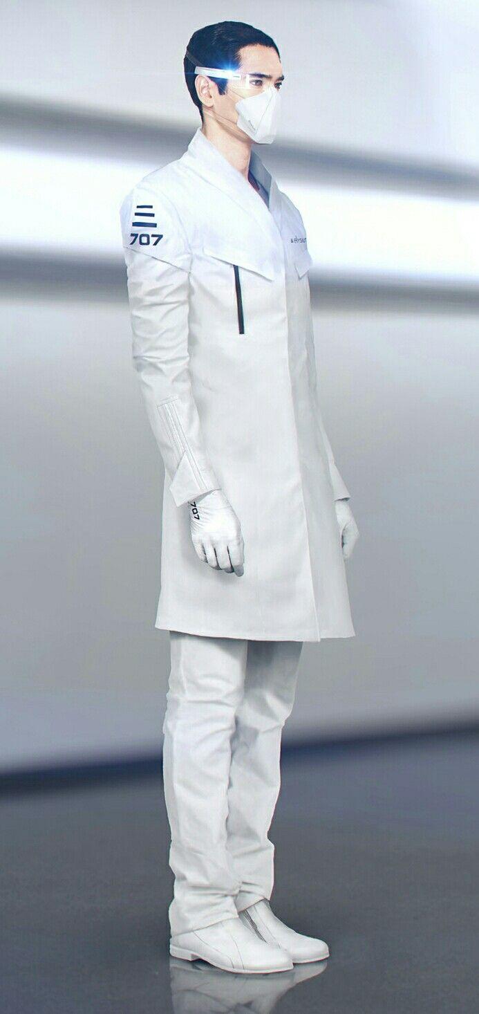 "Scientist | Sci-Fi Clothing - Uniform | ArtStation - ""Mirror's Edge: Catalyst"""