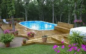 Image result for how to build in an above ground pool