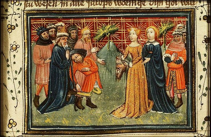 Judith Shows Holofernes' Head to the Bethulians - Azor masters http://www.