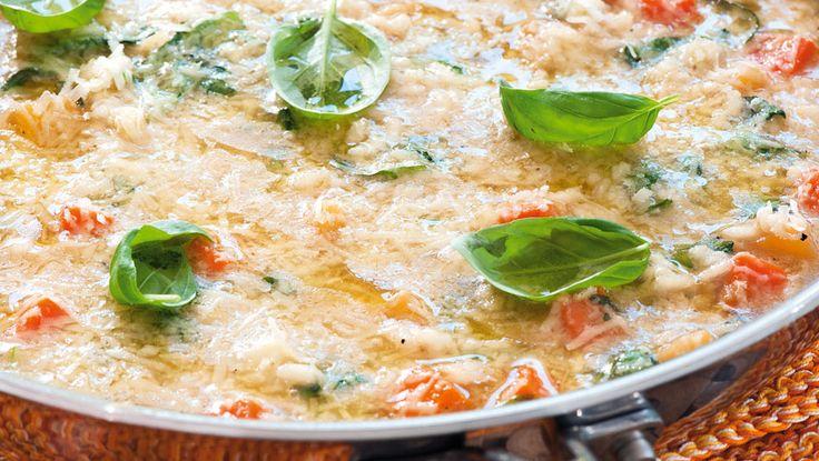 Risotto med grønnsaker