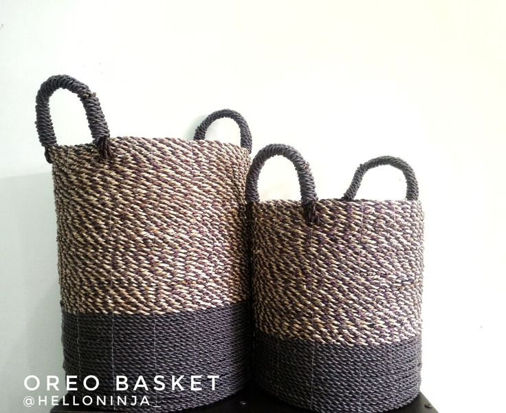 Useful basket. Lets check instagram.com/helloninja_  There are a lot of basket with   any models and types